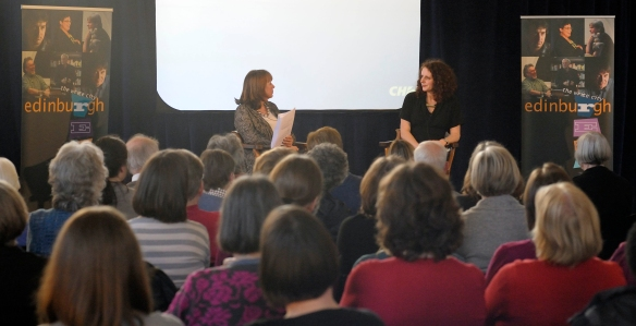 Maggie O'Farrell at Central LIbrary