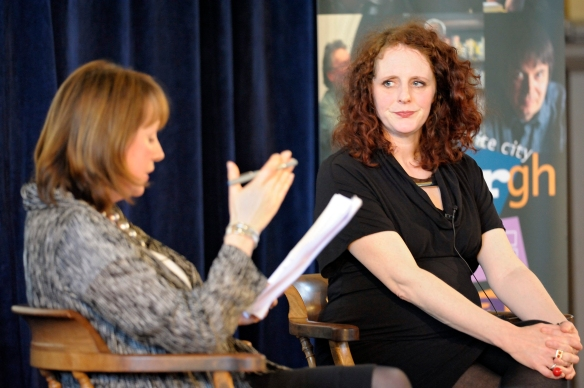 Jenny Brown (left) and Maggie O'Farrell