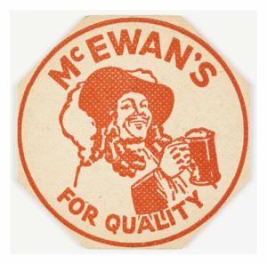McEwan's Beer Mat