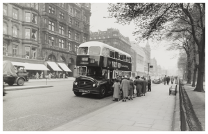 Corporation Bus Princes Street
