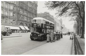 Corporation Bus Princes Street