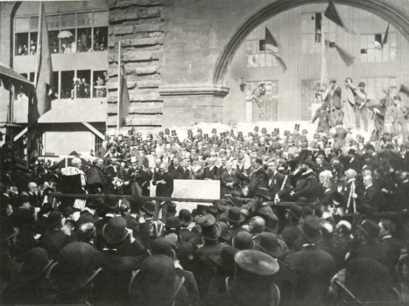 Foundation stone laying of Central Library