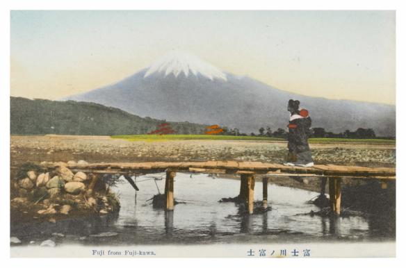 Fuji from Fuji-kawa