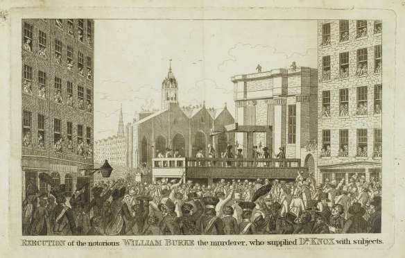 21676 Execution of  William Burke
