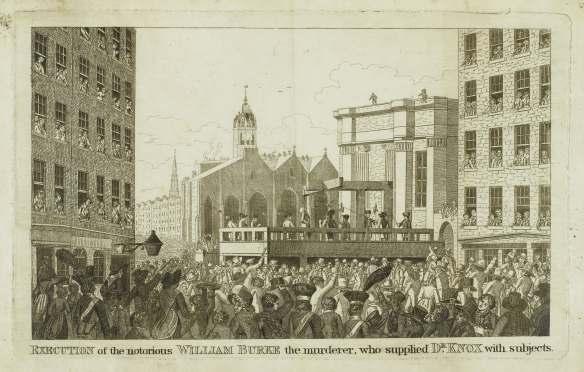 21676 Execution of  William Burke