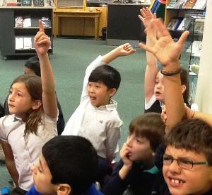 primary pupils classroom