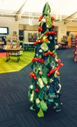 knitted tree