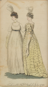 Fashionable full dress, 1799