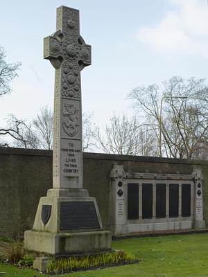Gretna Rail Disaster Memorial, Rosebank Cemetery, Pilrig Street, Edinburgh