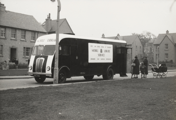 Mobile Library out in the community