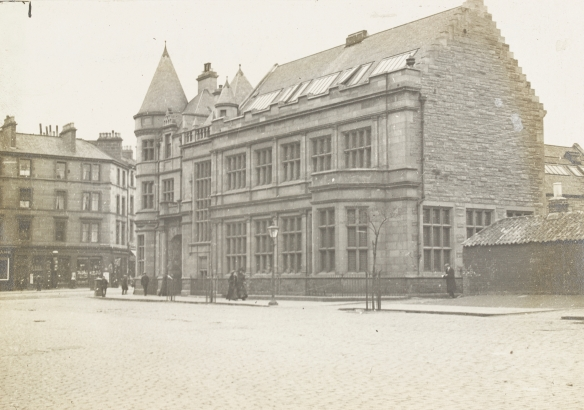 McDonald Road Library in 1912