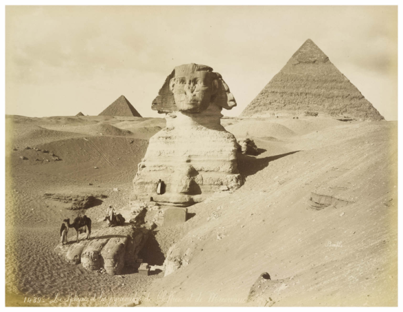 The Sphinx and the pyramids, Egypt