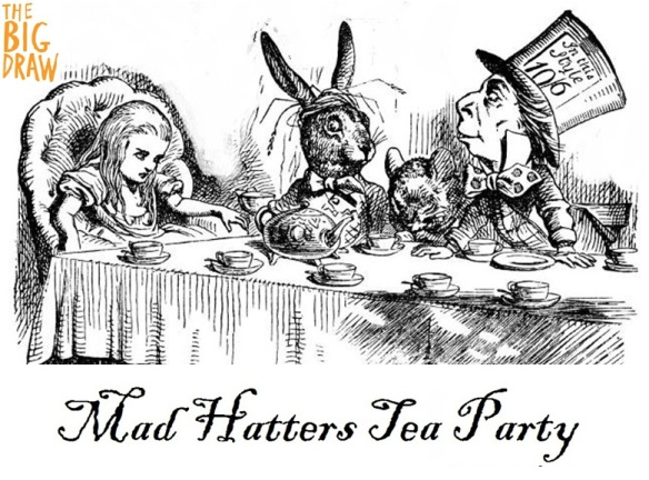 The Mad Hatter's Tea Party - Tenniel