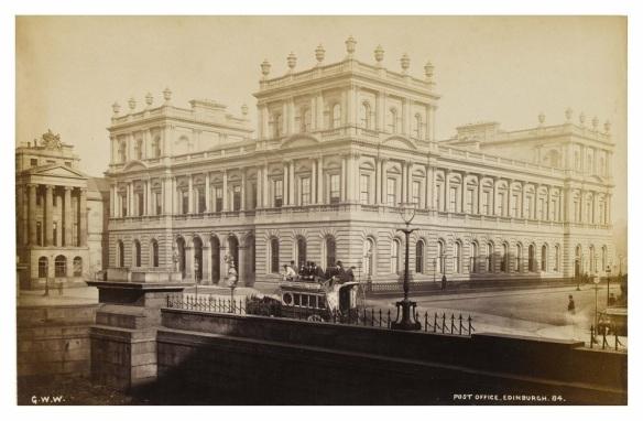 Post Office, 1880. George Washington Wilson