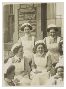 Nurses from Ward 14 Edinburgh Royal Infirmary (women's surgical)
