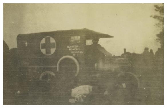 No 7 Ambulance car
