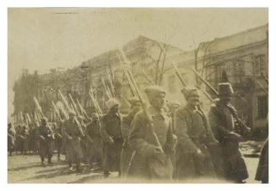 Revolutionary soldiers
