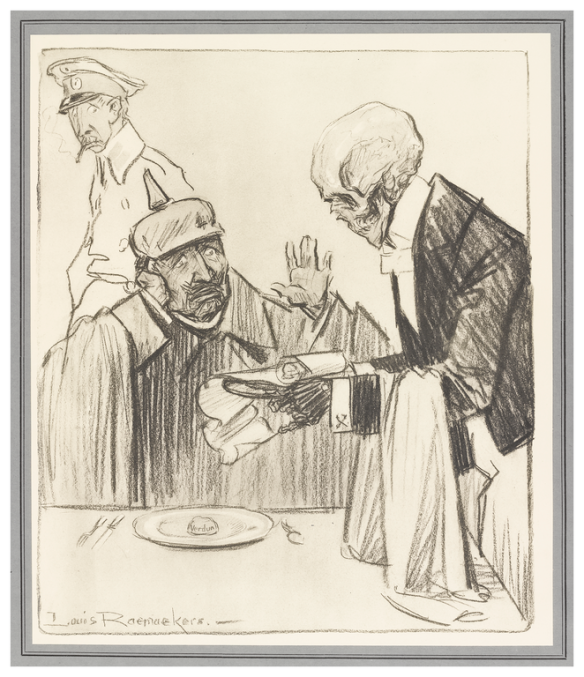 The Bill by Louis Raemaekers, 1917