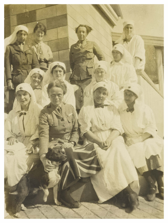 The Chief [Elsie Inglis] and some of her sisters