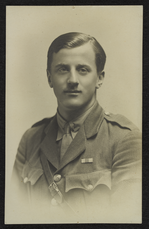 Douglas Moir younger brother of Ethel, killed in World War 1