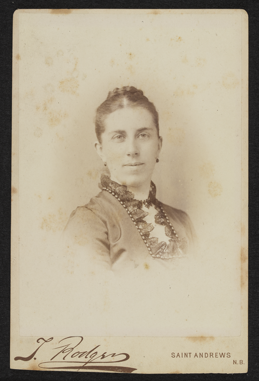 Jessie Moir, mother of Ethel.