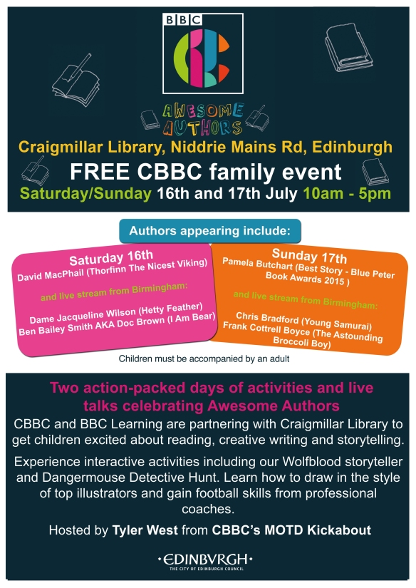 CBBC-Craigmillar-Poster-A3