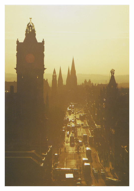 Princes Street, looking west, Edinburgh