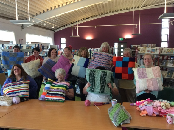 Wester Hailes Library Knit and Natter group