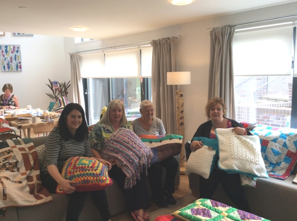 Knit and Natter Group at Heathervale Young People's Centre