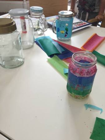Stockbridge Library - BFG inspired Dream Jar crafts
