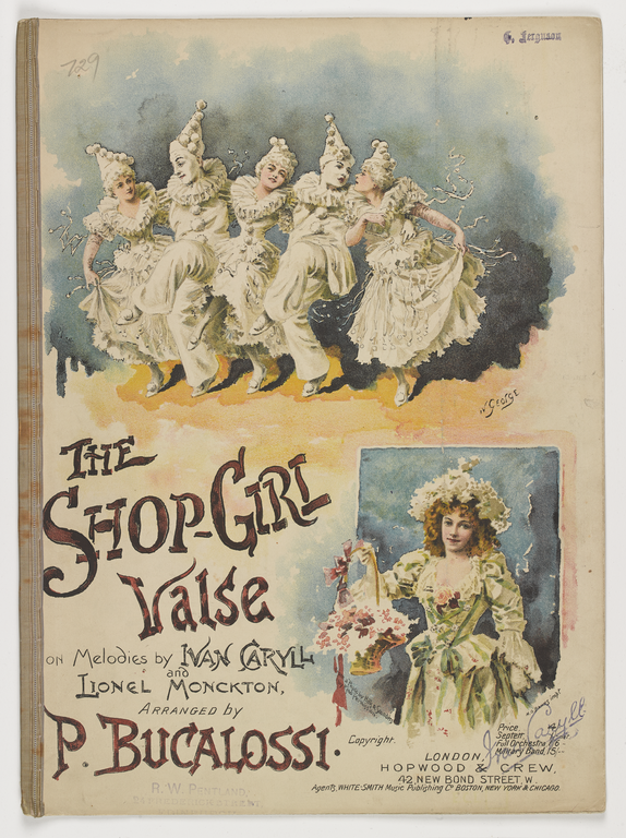 The Shop-Girl Valse, c1895