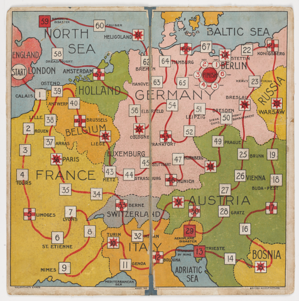 Board game from World War 1: To Berlin
