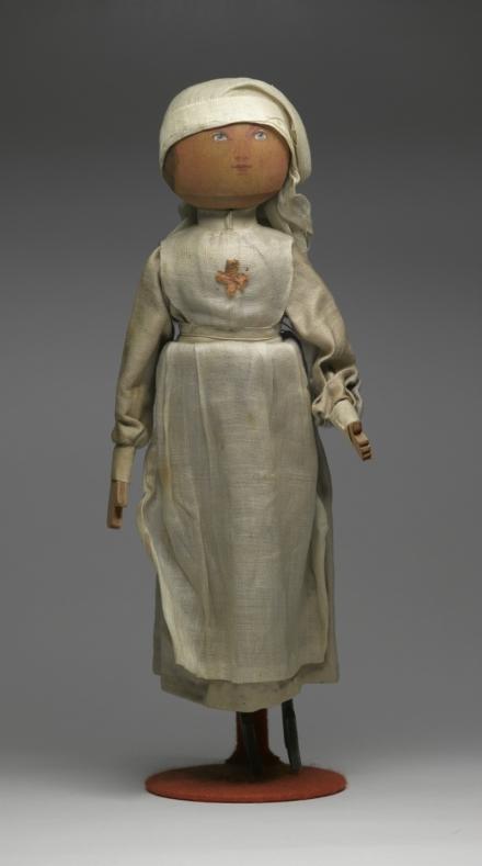 Doll: Red Cross nurse of World War 1