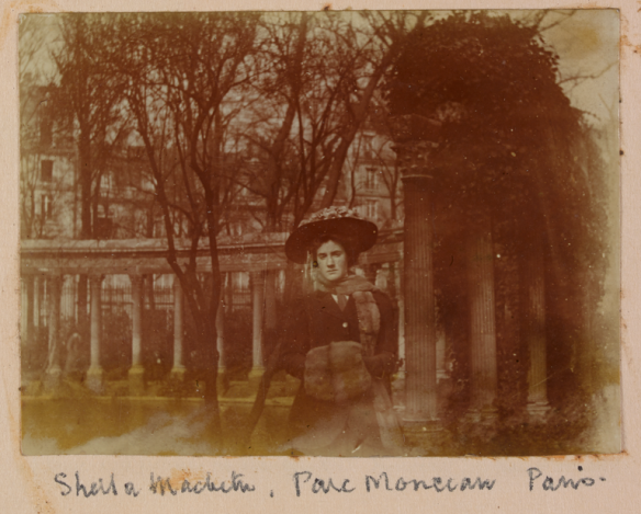 Sheila Macbeth, Parc Monceau, in Paris, c1908