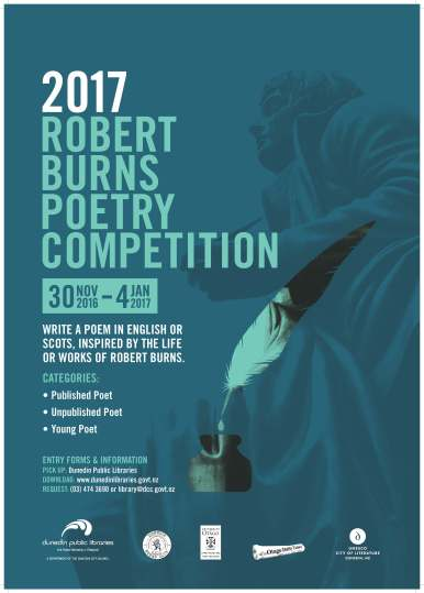 Robert Burns Competition Poster