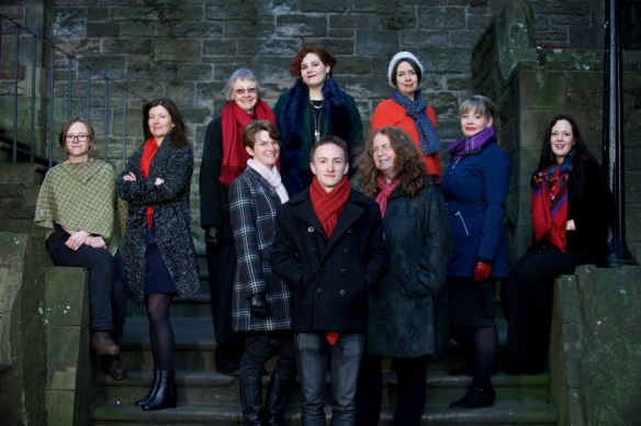 Scottish Book Trust New Writers Award Winners 2017 - photograph by Rob McDougall