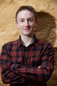 Simon Brown, New Writer Award Winner and Library Advisor at Fountainbridge