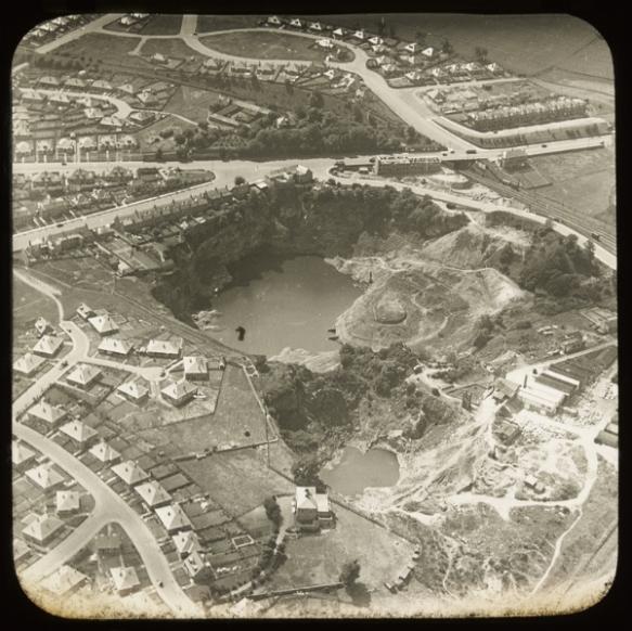 Craigleith Quarry (aerial view)