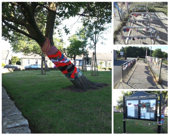 Photograph of Yarn bomb