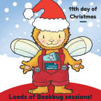 11th day of Christmas: loads of Bookbug sessions