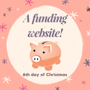6th day of Christmas: a funding website