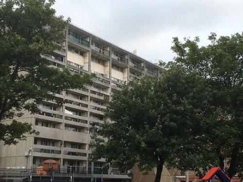 Photograph of a block of flats