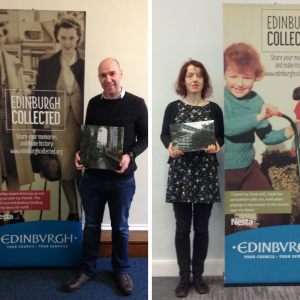 Photograph of Edinburgh Collected Competition Winners