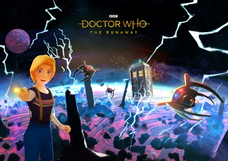 poster for Dr Who VR Experience