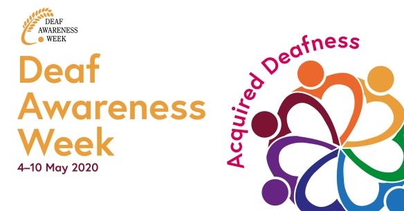 Deaf Awareness Week 2020 logo