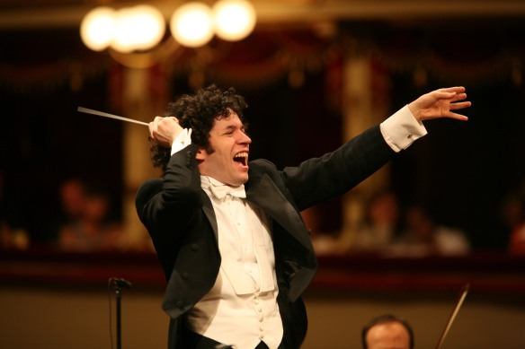 Photograph of Gustavo Dudamel