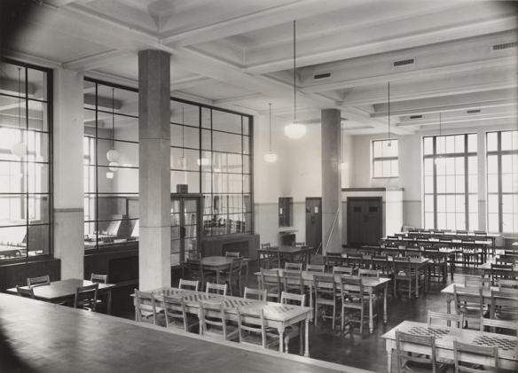 Interior of Fountainbridge Library