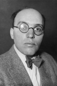 Portrait of composer, Kurt Weill