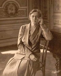 Portrait of Nadia Boulanger